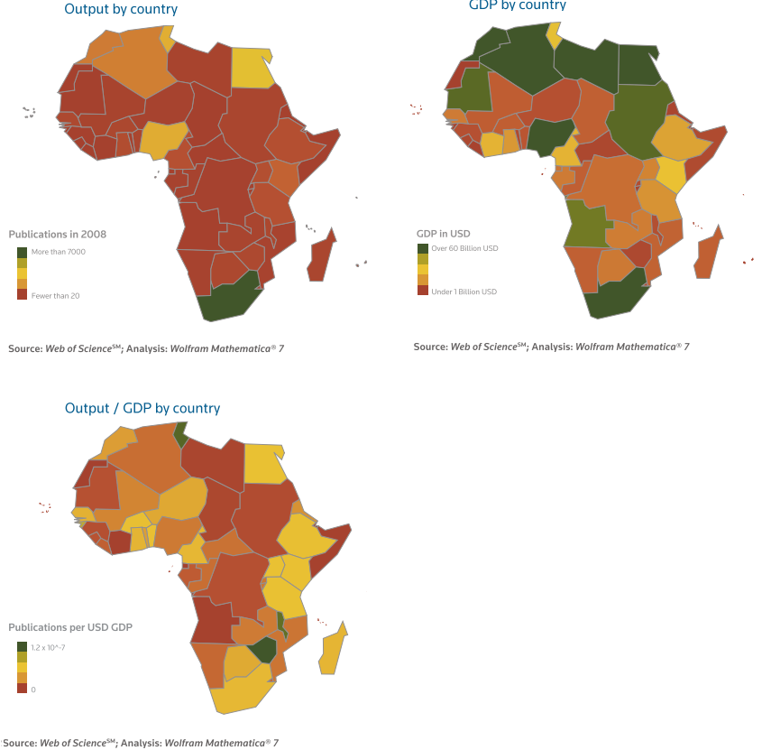 Research and publications in Africa