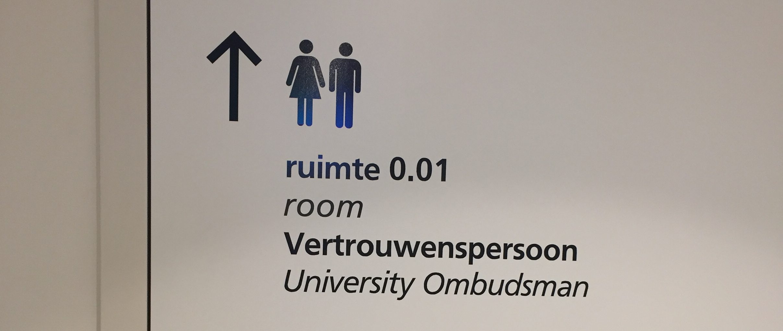Ombudsman kantoor deur
